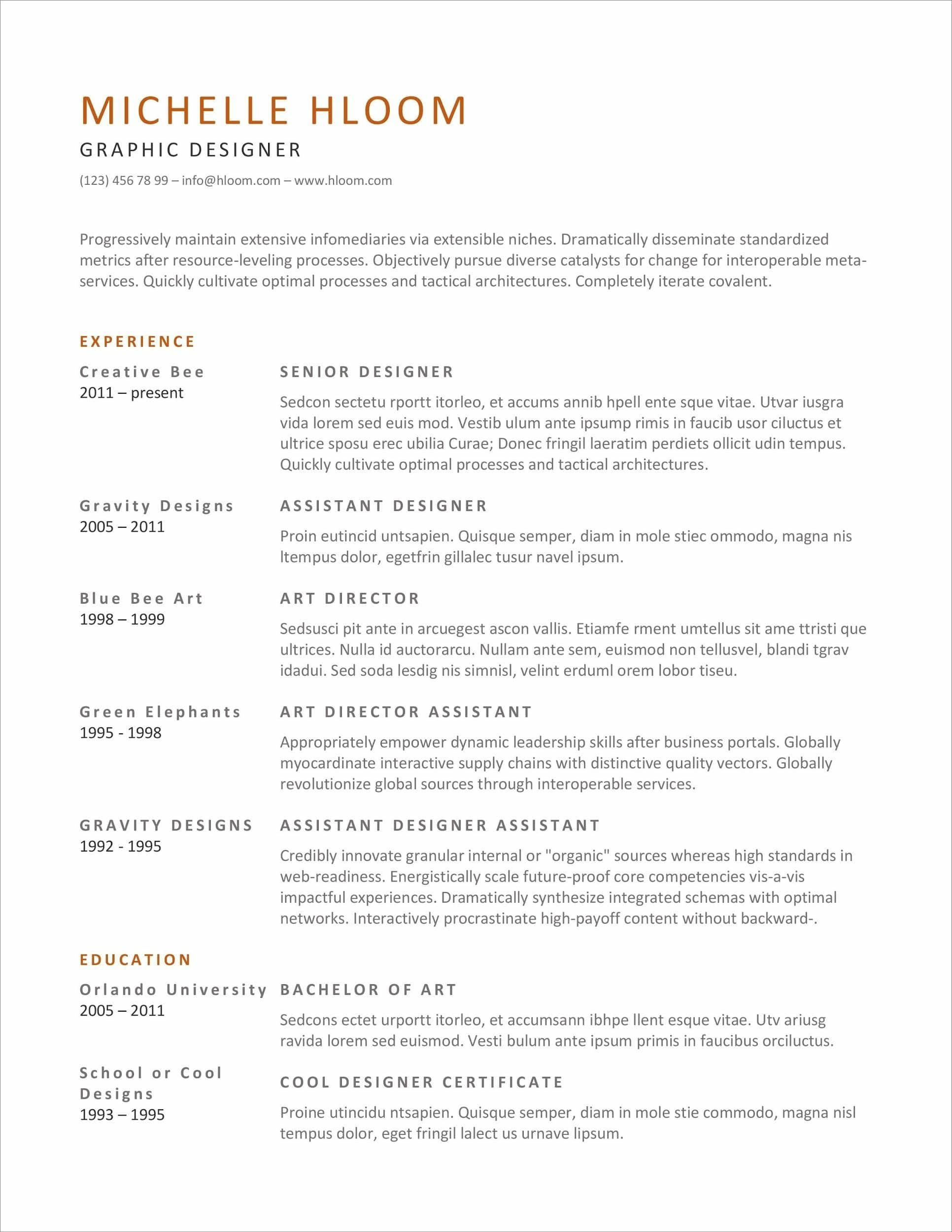 resume templates for microsoft word free formats ms word24 barback examples federal Resume Microsoft Resume Formats Templates