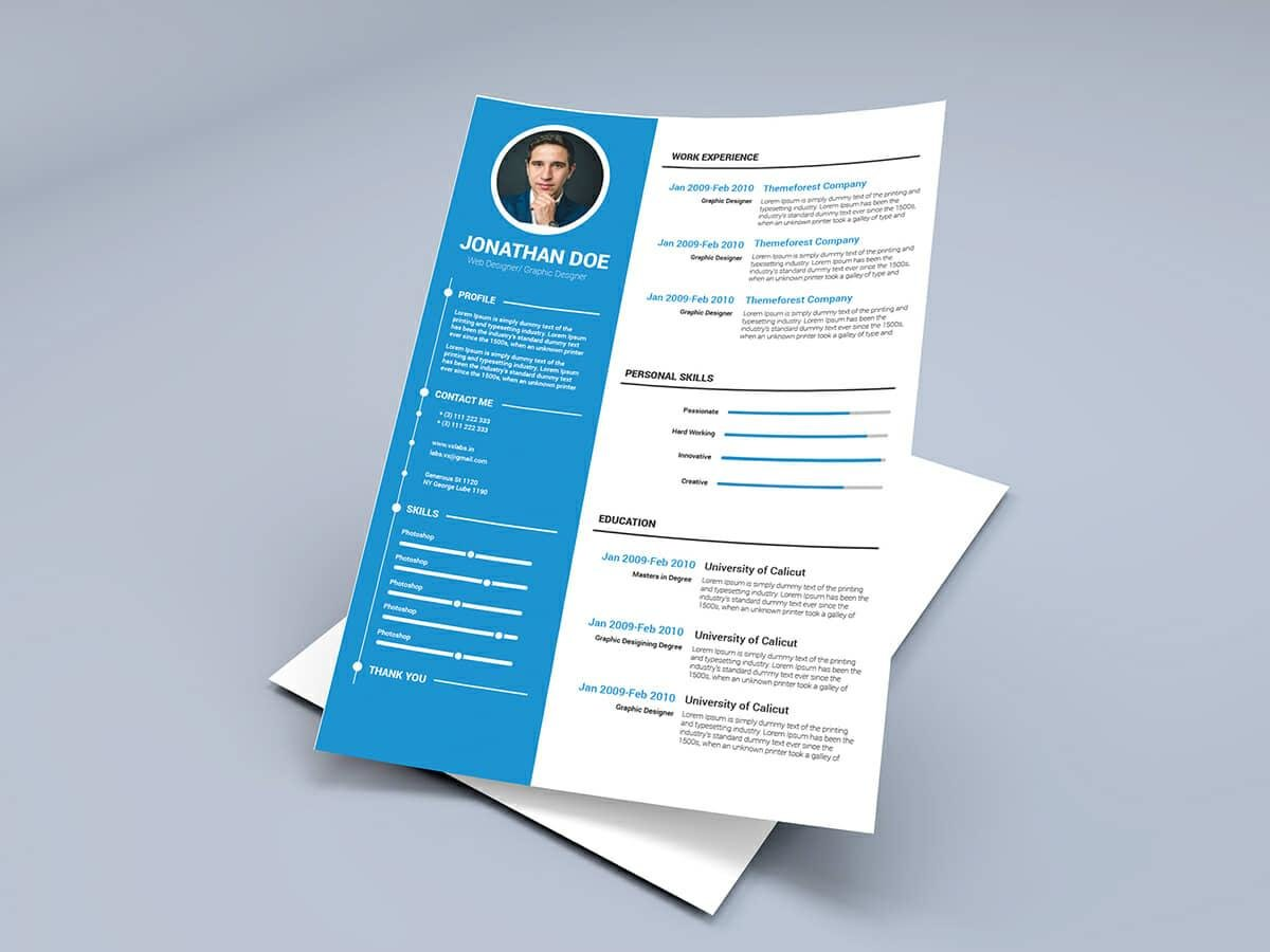 resume templates for microsoft word free graphic design template avaya call recording Resume Free Graphic Design Resume Template Word