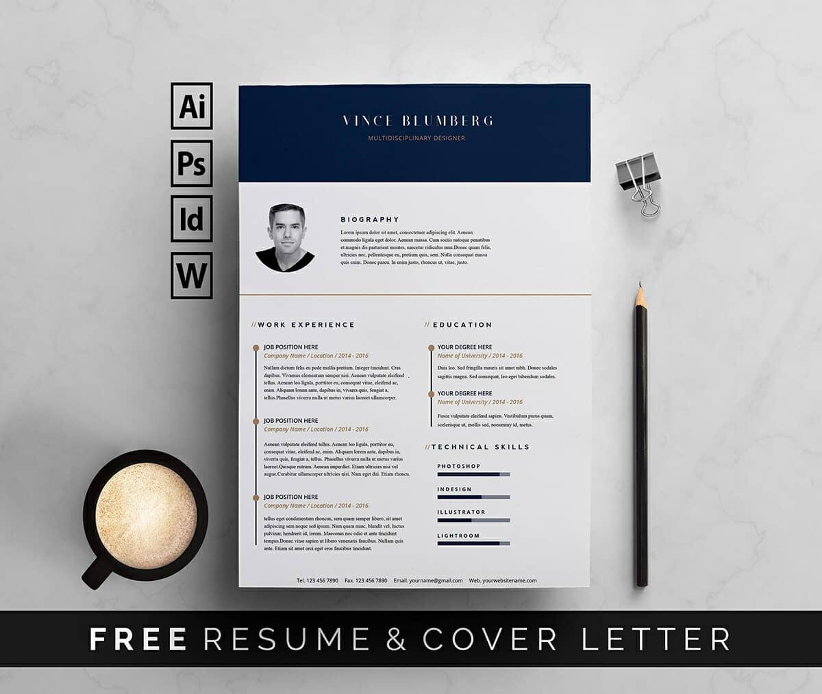 resume templates for microsoft word free graphic design template piping foreman sample Resume Free Graphic Design Resume Template Word