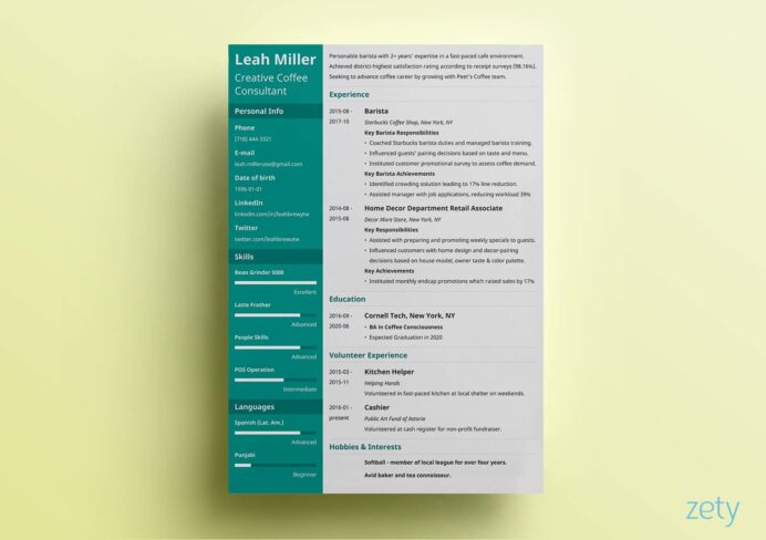 resume templates for microsoft word free template creative shipping and receiving Resume Cascade Resume Template Free Download