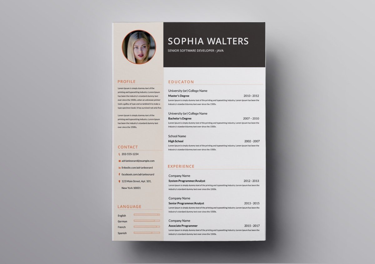 resume templates free for mac beautiful min template service industry sample help desk Resume Beautiful Resume Templates Download