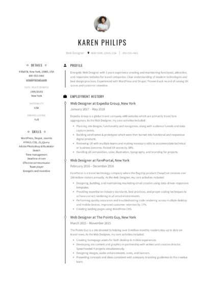 resume templates pdf word free downloads and guides best format for work history karen Resume Best Resume Format For Long Work History