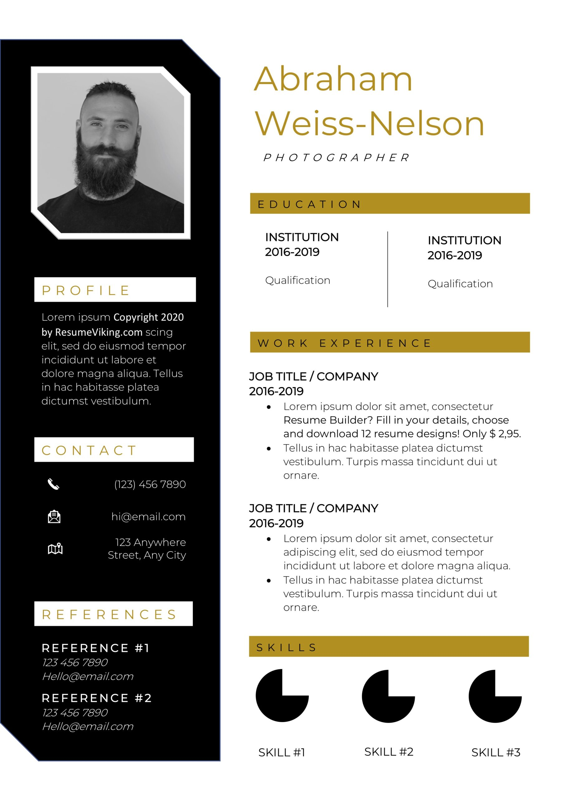 resume templates pdf word free downloads and guides creative examples grace resumeviking Resume Creative Resume Examples 2020