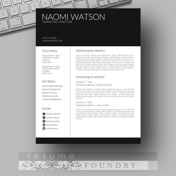 resume templates template word modern without photo customer service supervisor cardiac Resume Resume Template Without Photo