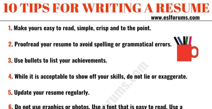 resume tips to write professional esl forums for writing 680x350 junior test analyst Resume Professional Resume Tips