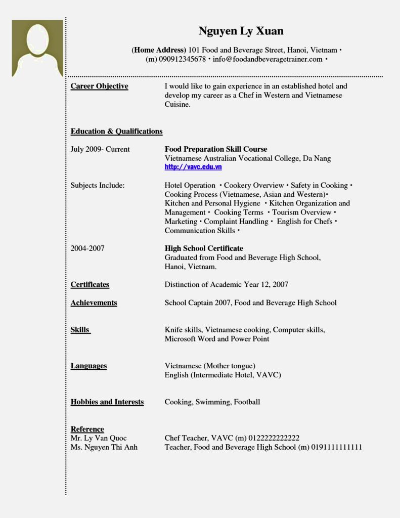 resume without work experience template job examples no samples mental health counselor Resume Resume Without Work Experience