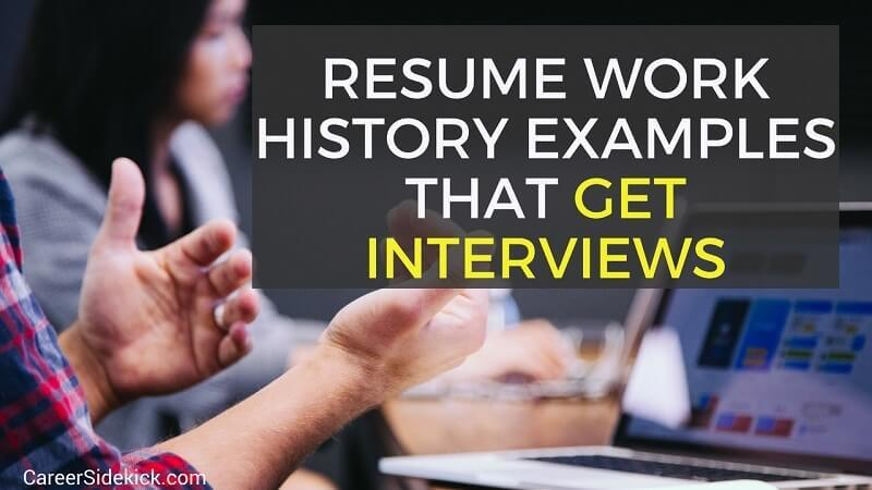 resume work history examples and to write yours find job without proven sharepoint Resume Find A Job Without A Resume