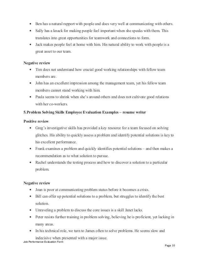 resume writer performance appraisal opening statement for administrative assistant Resume Performance Appraisal Resume