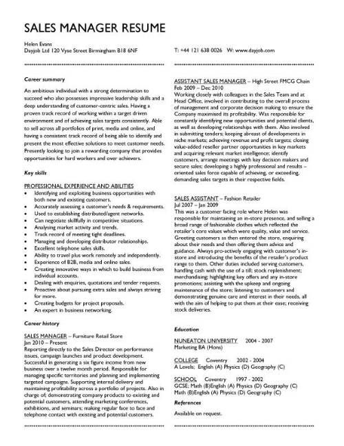 resume yourself examples sample templates manager paragraph about myself warehouse Resume Resume Paragraph About Myself Examples