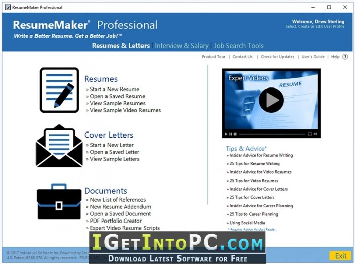 resumemaker professional deluxe free resume writing software mental health clinician Resume Professional Resume Writing Software