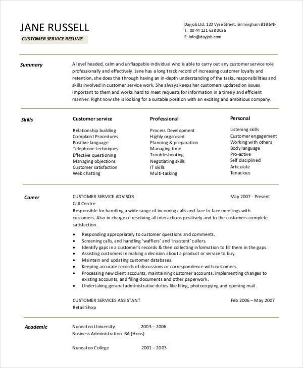 retail customer service resume manager are you looking for sample of cust objective Resume Resume Examples Customer Service Retail