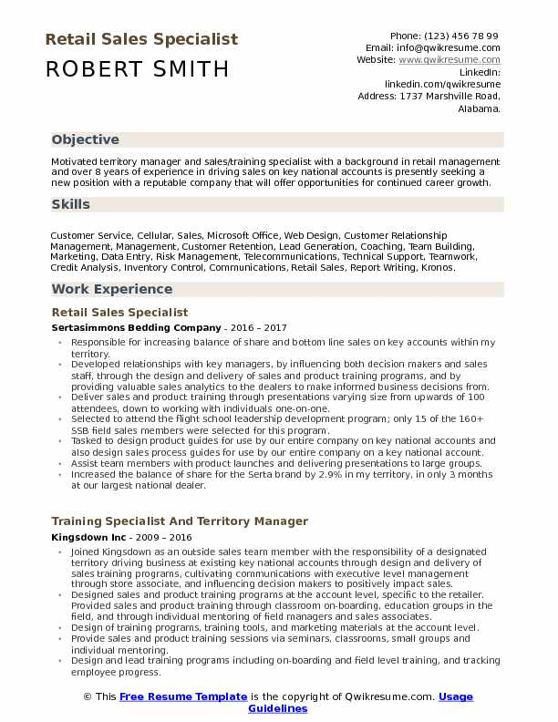 retail specialist resume samples qwikresume job duties for pdf writing tips skills pipe Resume Retail Job Duties For Resume
