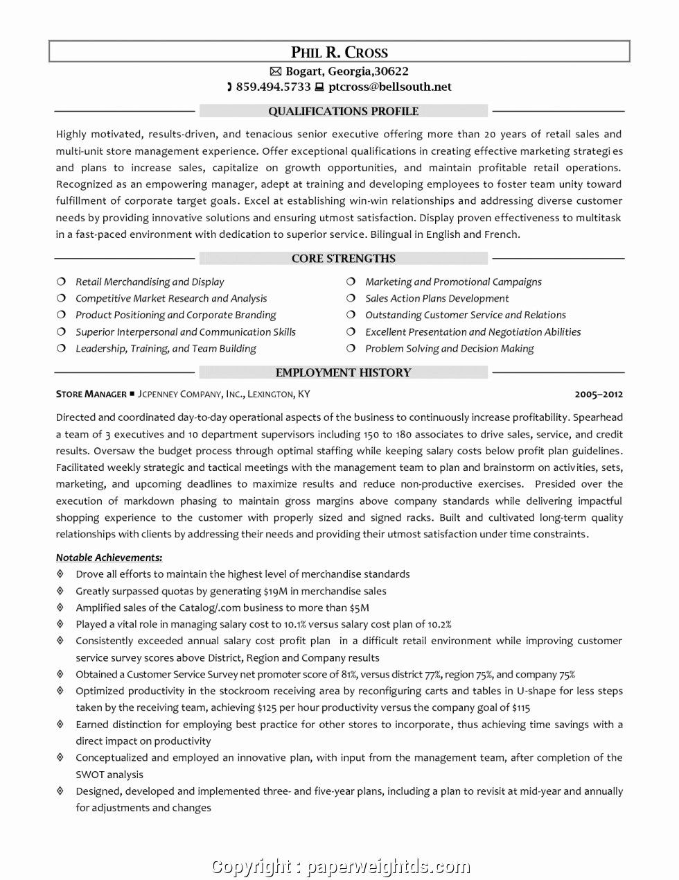 retail store manager resumes awesome creative clothing resume in sample examples jcpenney Resume Jcpenney Resume Examples
