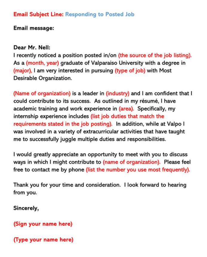 sample email cover letters examples to write and send title for sending resume letter Resume Title For Sending Resume