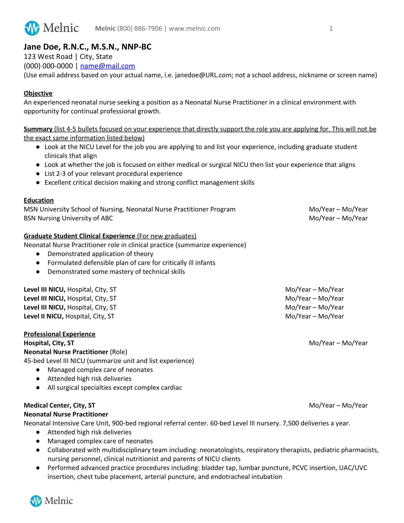 sample nurse practitioner resume new graduate nnp without dates paragraph about myself Resume New Graduate Nurse Practitioner Resume