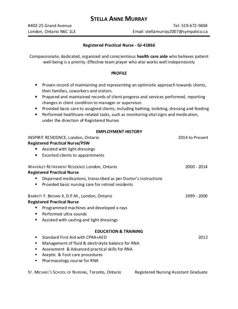 sample psw resume qualifications kelly services builder database experience for bakery Resume Psw Qualifications Resume