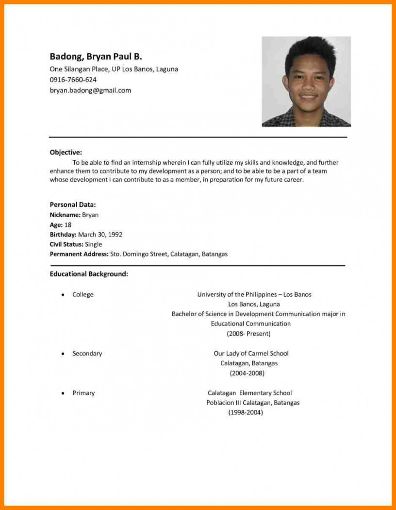sample resume for application job template builder example writing samples resumes format Resume Writing A Resume For A Job Application