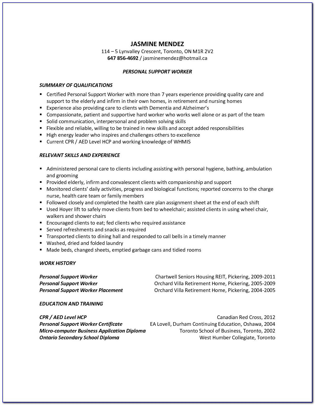 sample resume for driving job vincegray2014 psw qualifications parser free api indeed Resume Psw Qualifications Resume