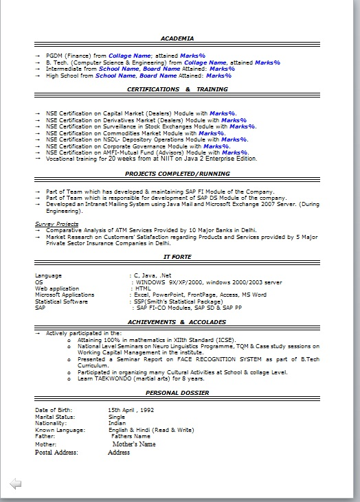 sample resume for harvard business school template professional format free email Resume Harvard Business School Resume Template