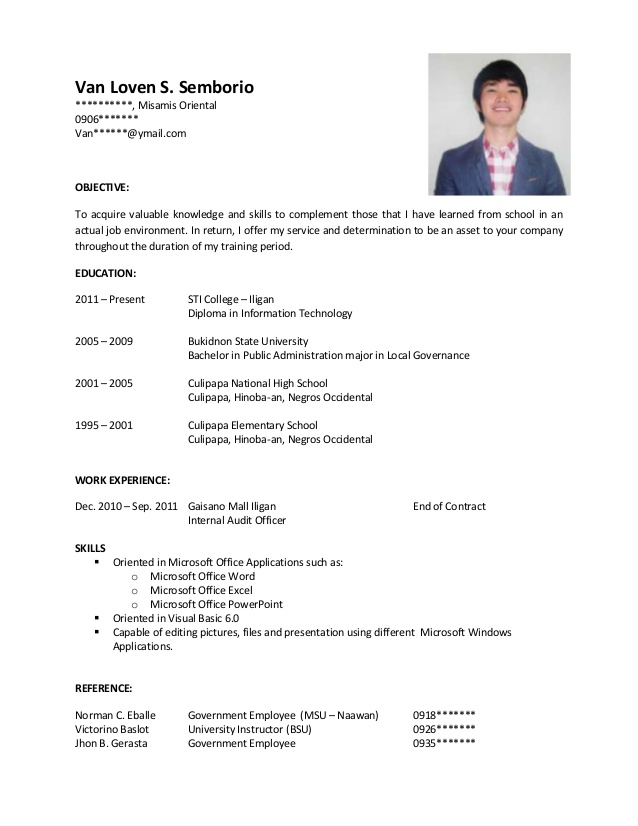 sample resume for ojt on the job training objectives warehouse worker medical scribe tour Resume On The Job Training Objectives Resume