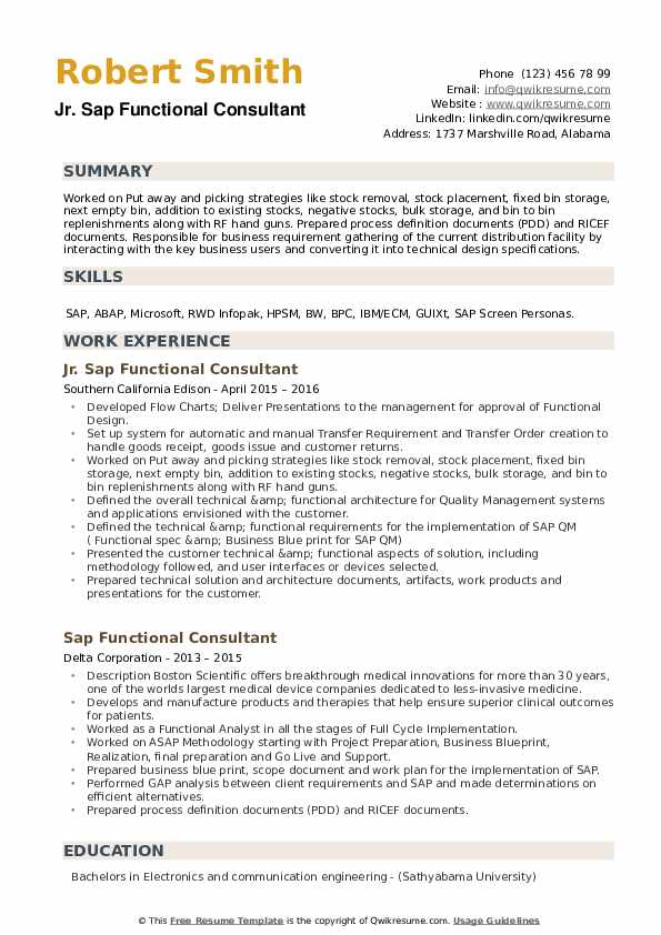 sap functional consultant resume samples qwikresume crm pdf insight sample for civil Resume Sap Crm Functional Resume