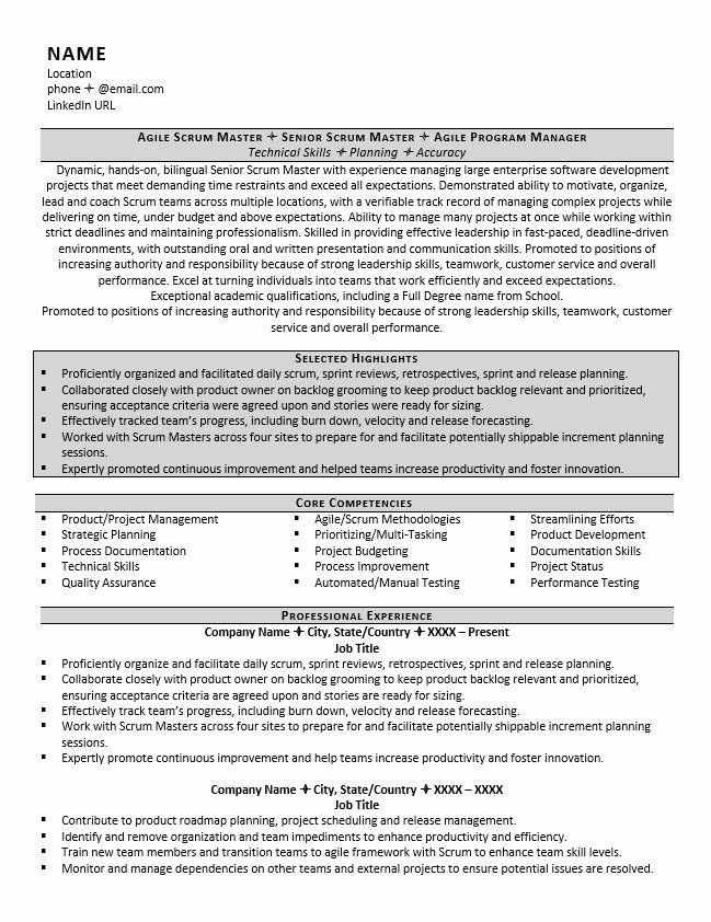 scrum master resume examples best of example tips for zipjob in sample summary healthcare Resume Resume Sample For Scrum Master