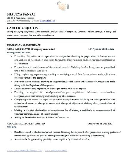 secretary resume format company elegant over and samples with free down compan best words Resume Sample Objective For Secretary Resume