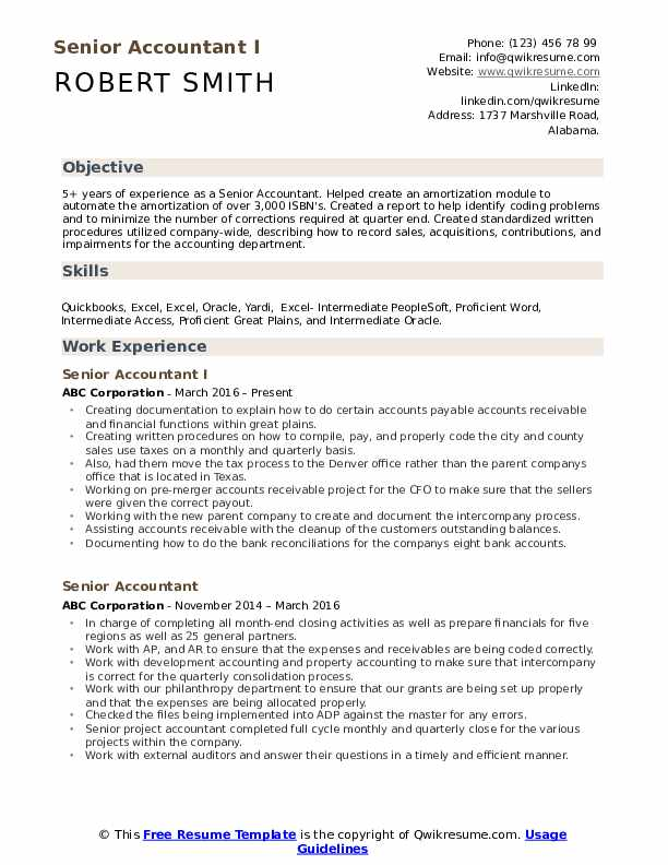 senior accountant resume samples qwikresume professional summary pdf track and field for Resume Professional Summary Accountant Resume