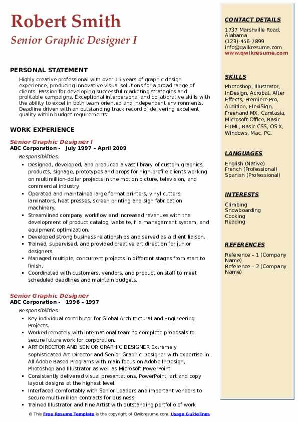 senior graphic designer resume samples qwikresume sample pdf shoe salesperson tefl Resume Senior Graphic Designer Resume Sample