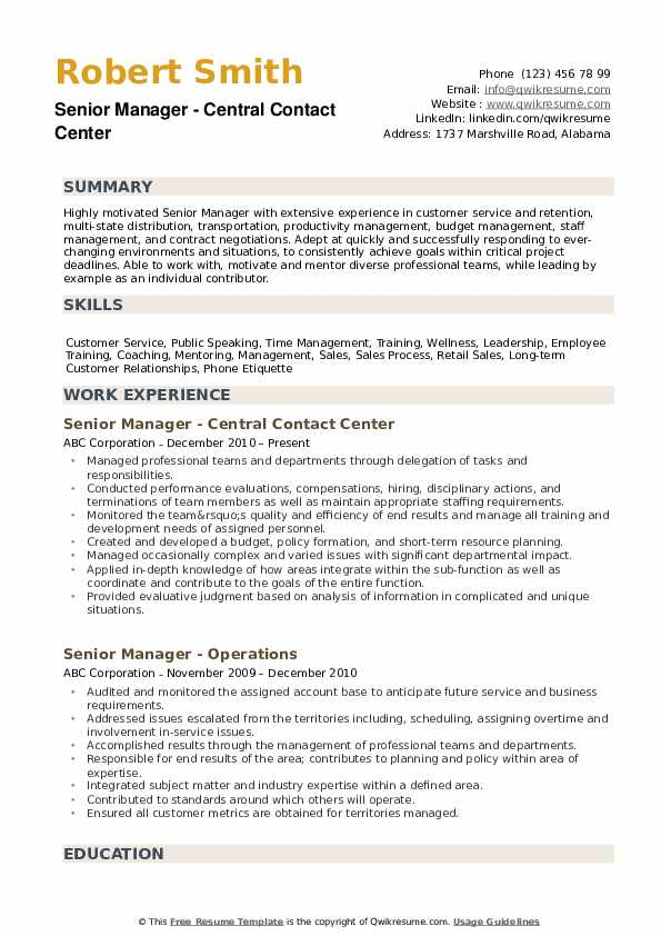senior manager resume samples qwikresume global mobility pdf executive director conducted Resume Global Mobility Manager Resume