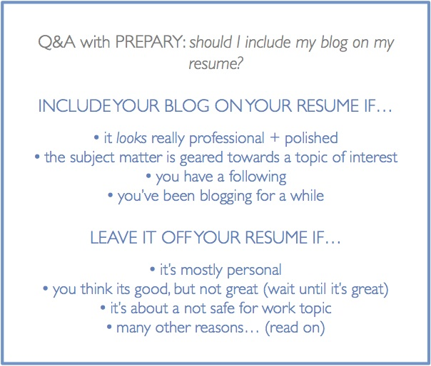 should include my blog on resume the prepary peoplesoft project manager language skills Resume Should A Resume Include A Picture