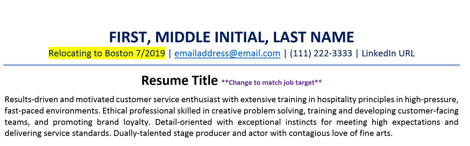 should you include your full address on resume updated when relocating service attendant Resume Should A Resume Include A Picture