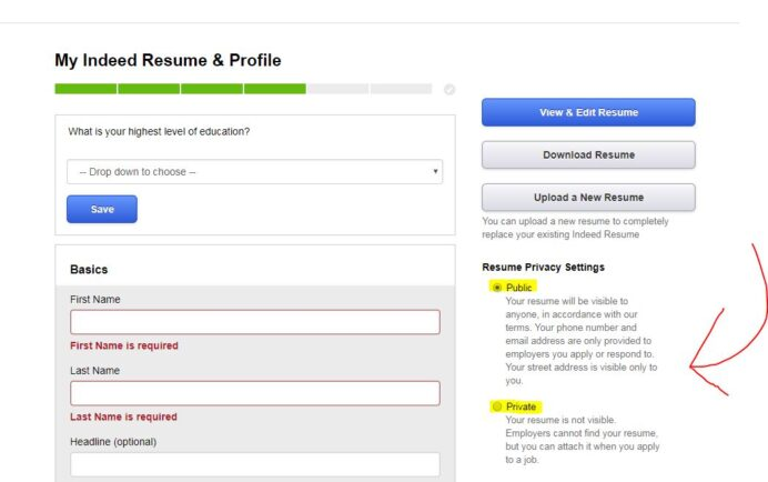 should you upload your resume on sites like indeed privacy tips pricing for search making Resume Indeed Pricing For Resume Search