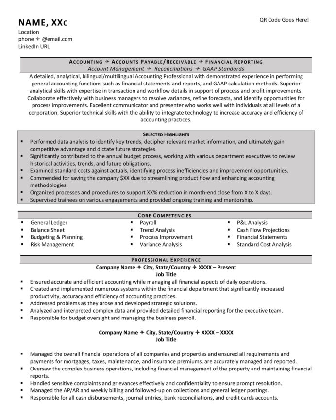 should your resume have columns examples two column format accounting template Resume Two Column Resume Format