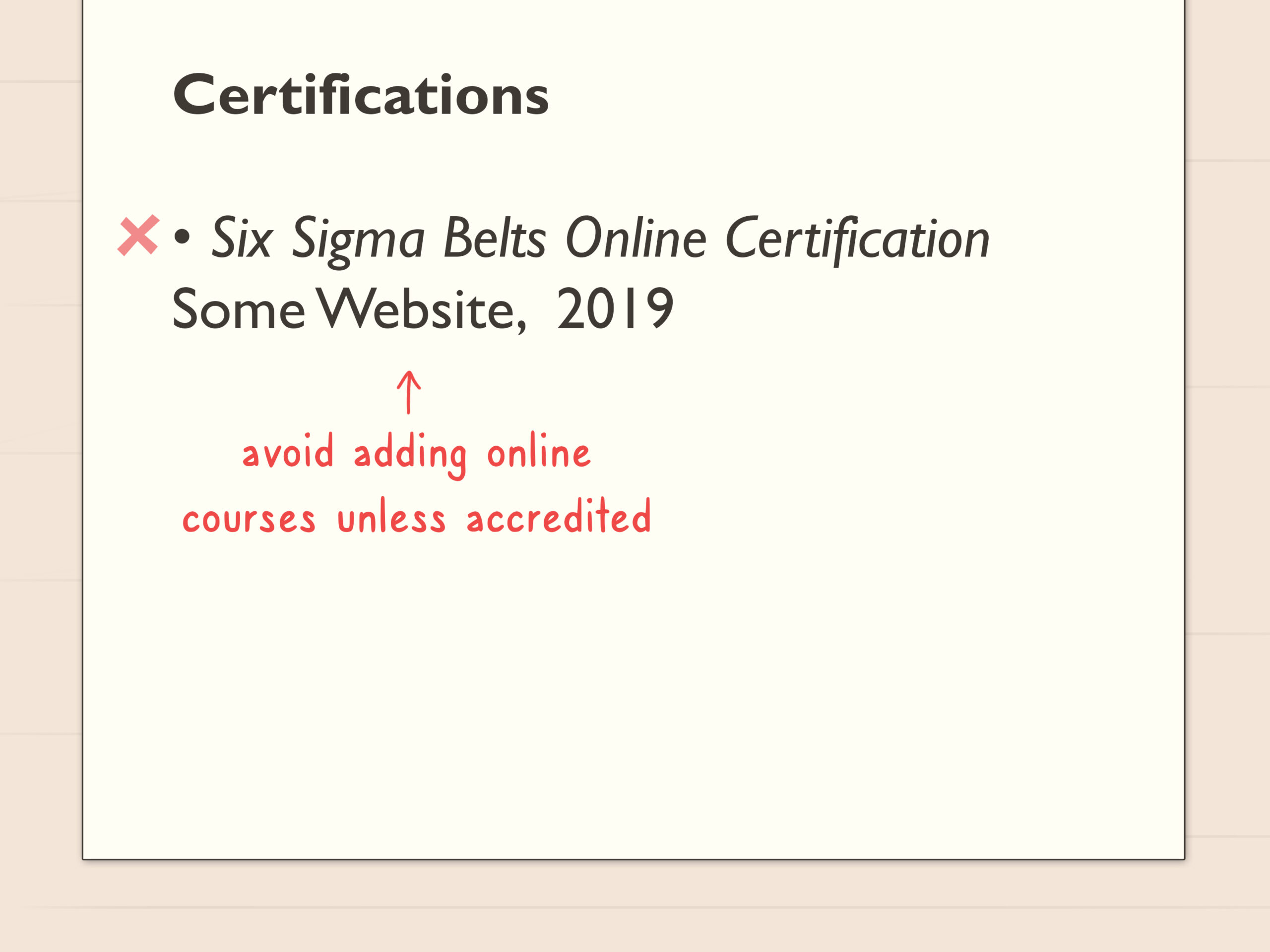 simple ways to certifications resume steps listing on step architect profile does need an Resume Listing Certifications On Resume