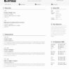 single resume template addictionary free outstanding high resolution cpa examples for Resume Cascade Resume Template Free Download
