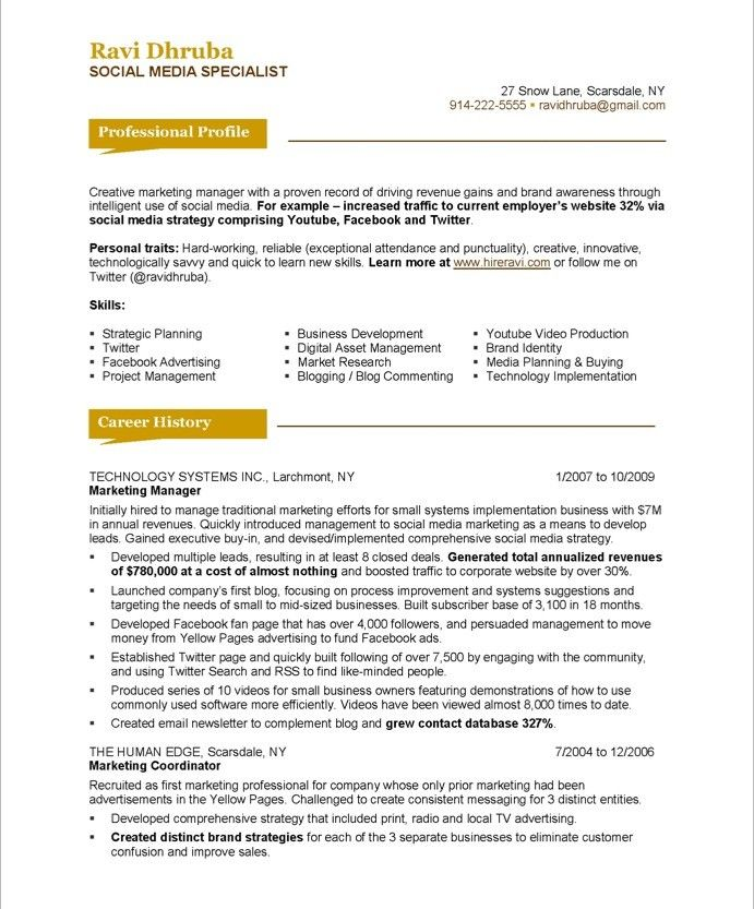 social media specialist page1 resume makeover examples define cover letter ntu template Resume Social Media Resume Examples