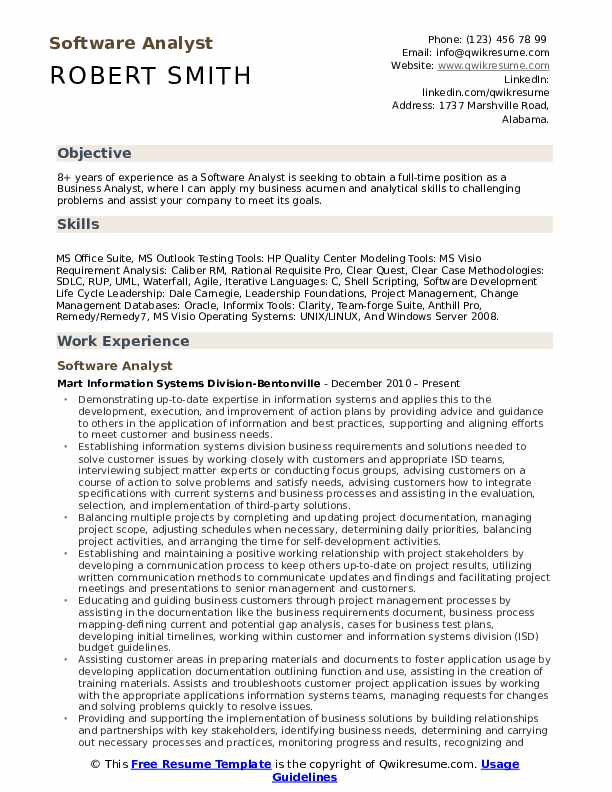 software analyst resume samples qwikresume business with testing experience pdf retail Resume Business Analyst Resume With Testing Experience