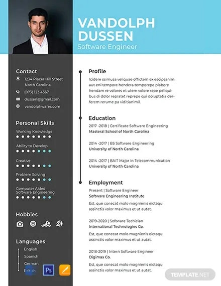 software engineer resume template free word pdf documents premium templates developer for Resume Software Developer Resume Template Word