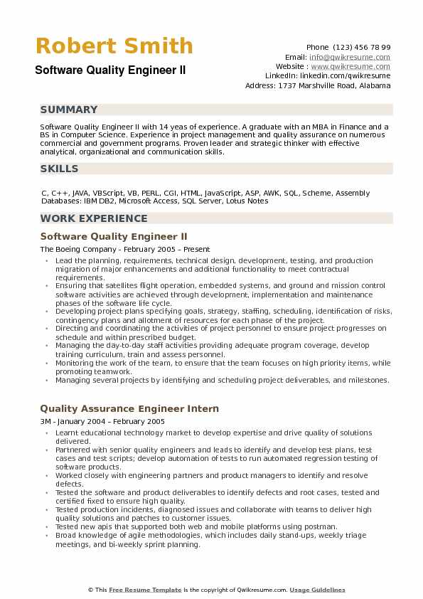 software quality engineer resume samples qwikresume objective pdf salesforce admin for Resume Quality Engineer Resume Objective