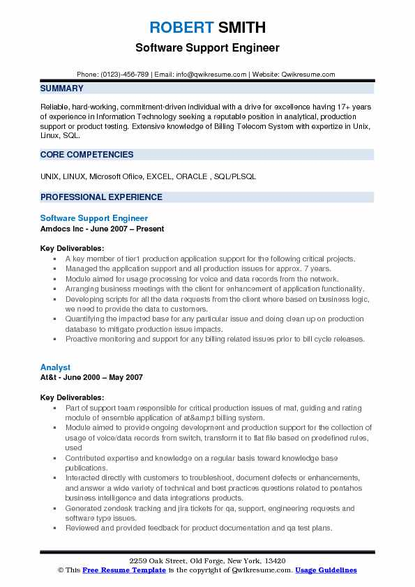 software support engineer resume samples qwikresume application pdf self starter example Resume Software Application Support Resume