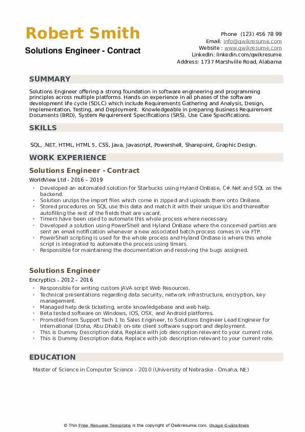 solutions engineer resume samples qwikresume web scraping sample pdf entertainment Resume Web Scraping Resume Sample