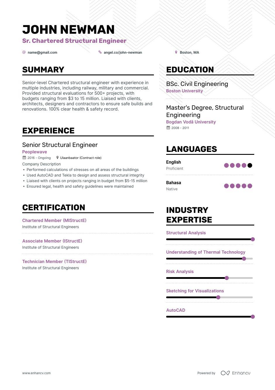 structural engineer resume ultimate guide for examples engineering sample transmission Resume Structural Engineering Resume Sample