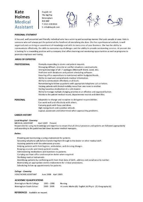 student entry level medical assistant resume template objective business analyst packer Resume Entry Level Medical Assistant Resume Objective