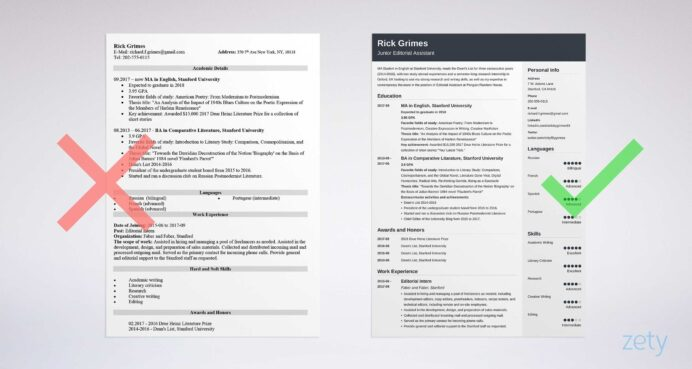 student resume examples templates for all students tips entry level and samples pcb Resume Resume Tips For Students