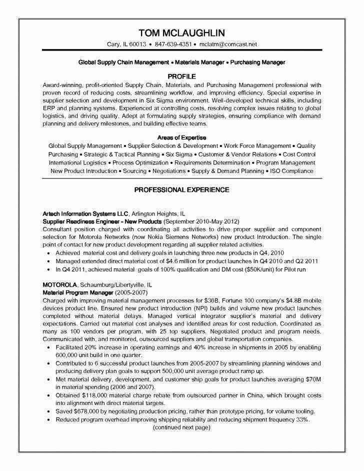 supply chain resume examples new analyst in skills objective email symbol for professor Resume Supply Chain Resume Examples
