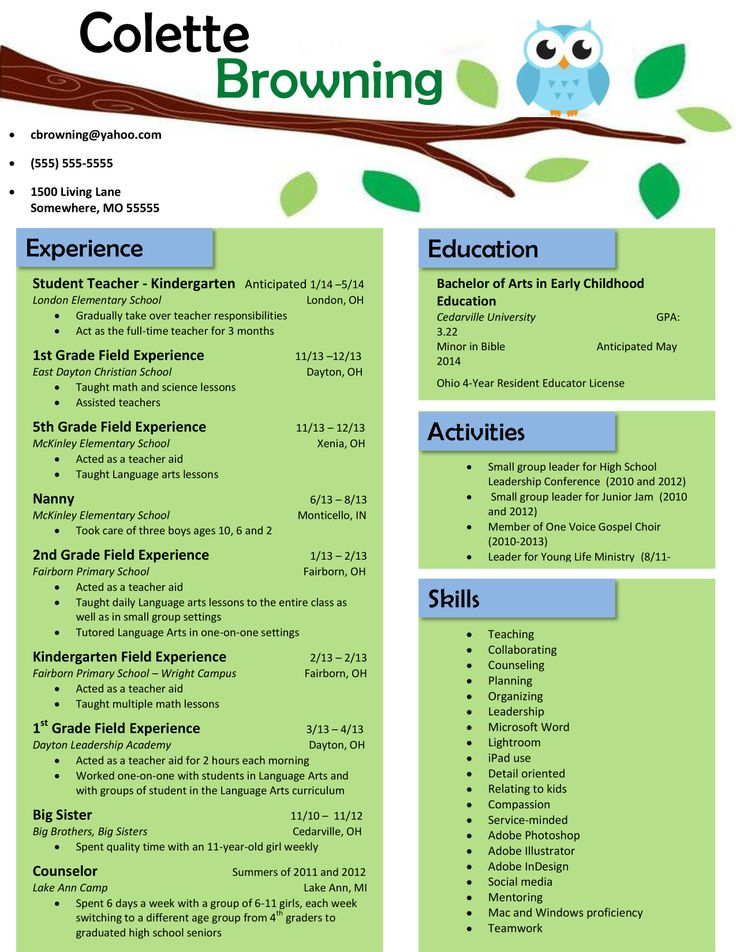 teacher resume template ipasphoto free templates for childhood education is one of the Resume Free Resume Templates For Early Childhood Education