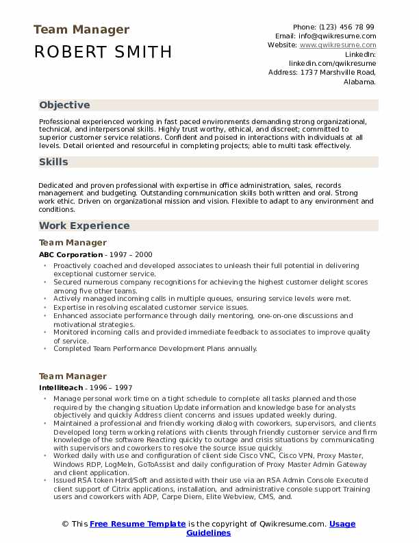team manager resume samples qwikresume detail oriented skills on pdf can you export your Resume Detail Oriented Skills On Resume