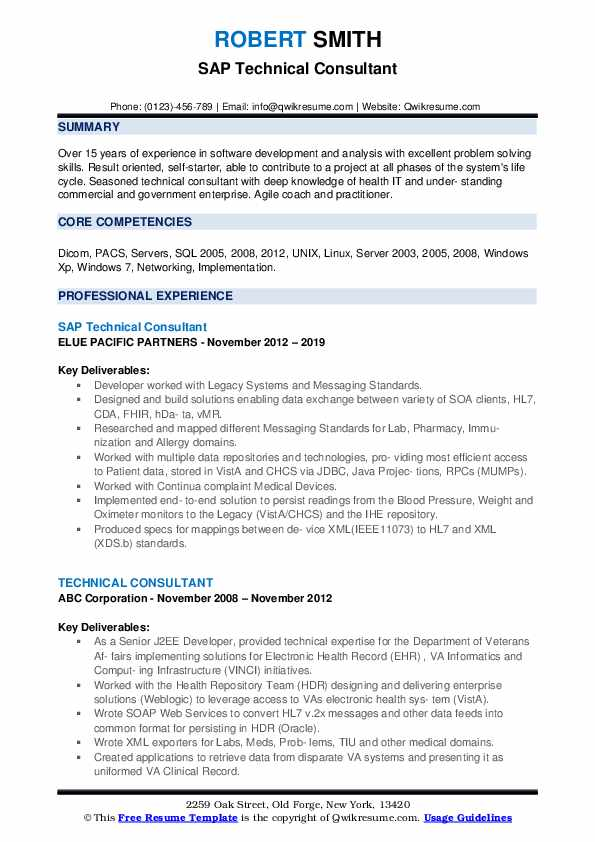 technical consultant resume samples qwikresume technology examples pdf iti problem action Resume Technology Consultant Resume Examples