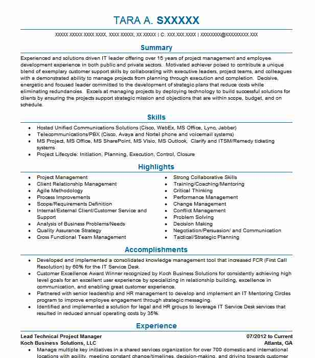 technical project manager resume example infosys technologies ltd bellevue telecom sample Resume Telecom Project Manager Resume Sample